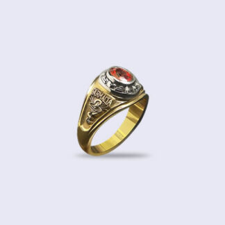 Anillo de grado Antique 6x4 Oval