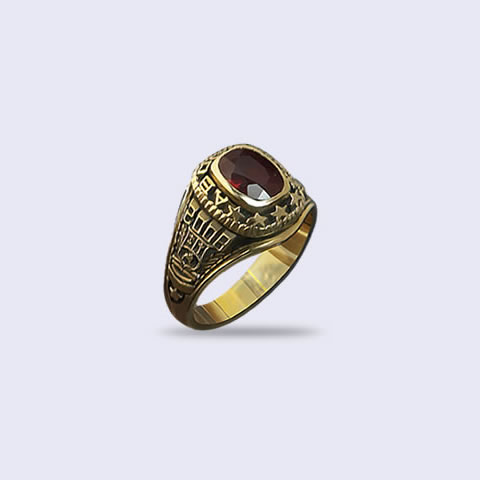 Anillo de grado Antique 6x8 Rect