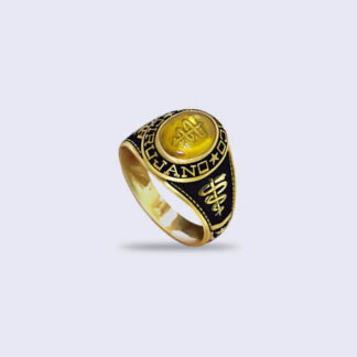 Anillo de Grado Antique 10x8 Oval